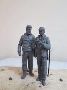 Памятник геологам, создающийся на средства ветеранов отрасли