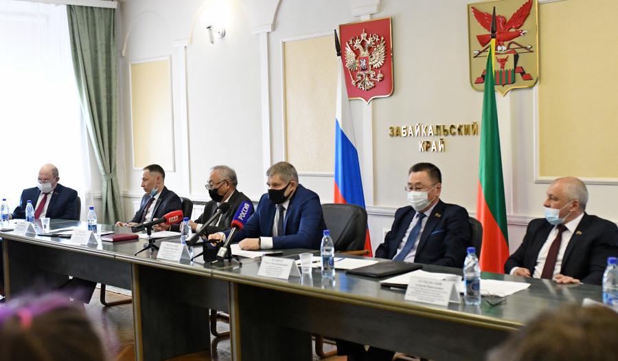 пресс-службы краевого парламента